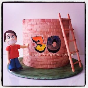 30 Yaş Doğum Günü Pastası #butikpasta #yetişkinbutikpasta #gençbutikpasta #doğumgünüpastası #30yaşpastası
