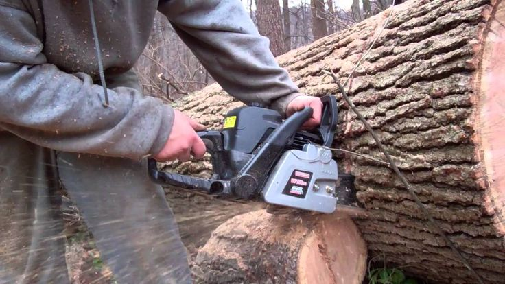 Craftsman 20 in. 50 cc gas chainsaw review