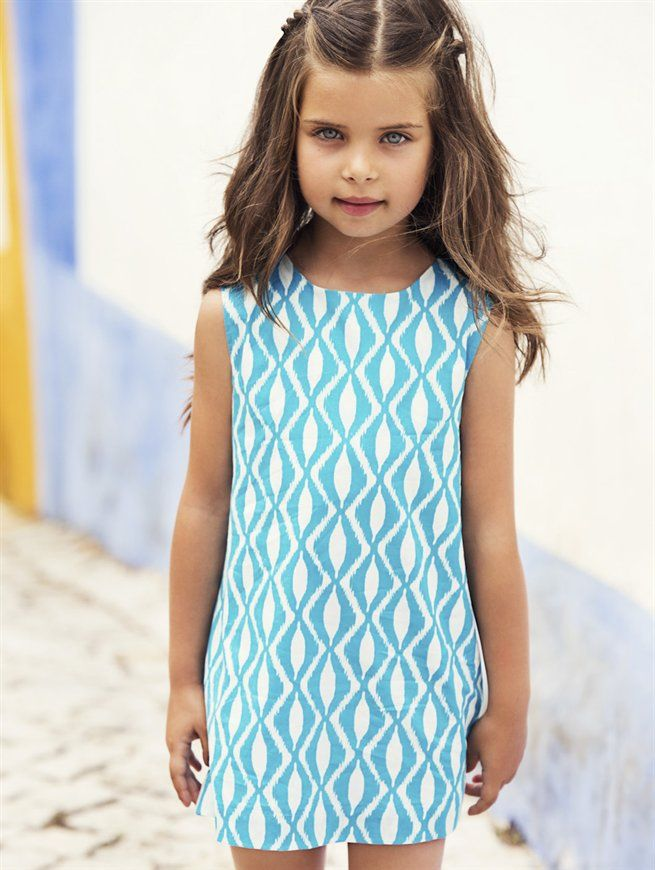 GIRLS BATIK PRINT A-LINE DRESS - CHILDREN - Oscar de la Renta