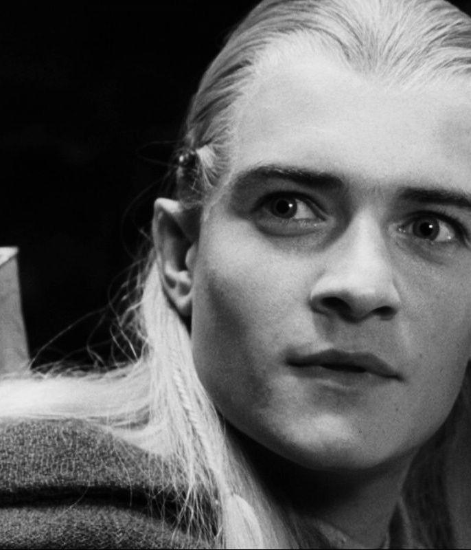 Orlando Bloom only as Legolas.