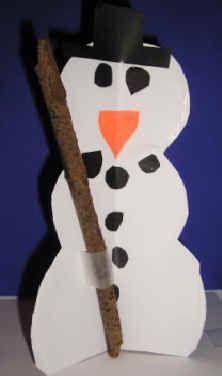 3D sneeuwpop