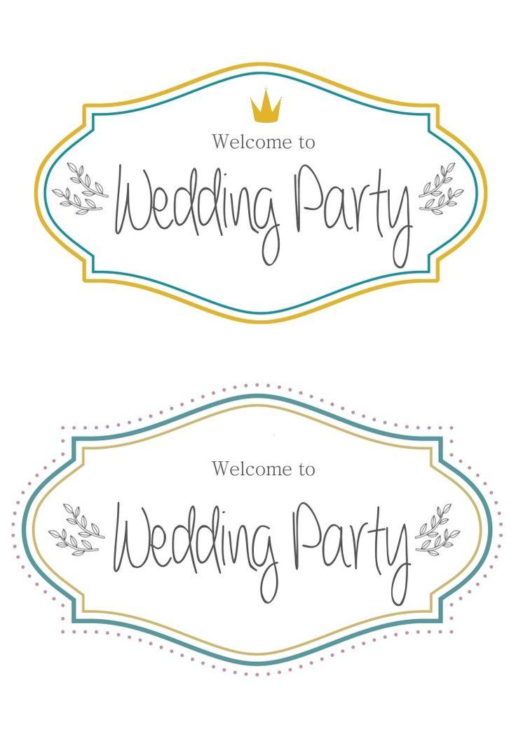 파티 데코용 라벨 도안들 :) 셀프웨딩소품 : 네이버 블로그