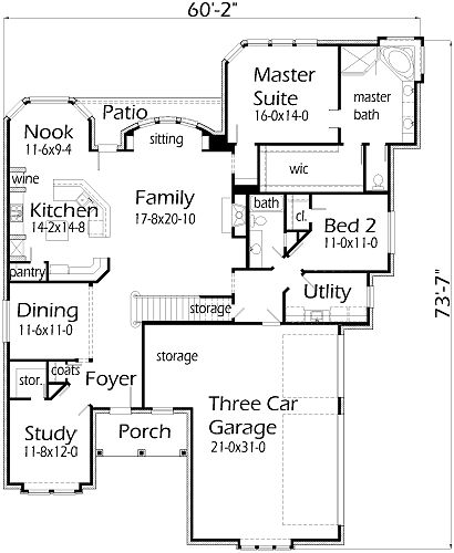 30 best House plans images on Pinterest | Dream house plans, House ...