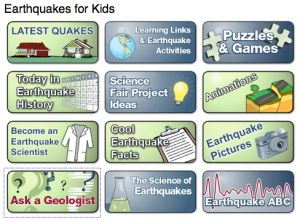 11 Free Science Websites for Kids - Earthquakes for Kids - Really Good Stuff