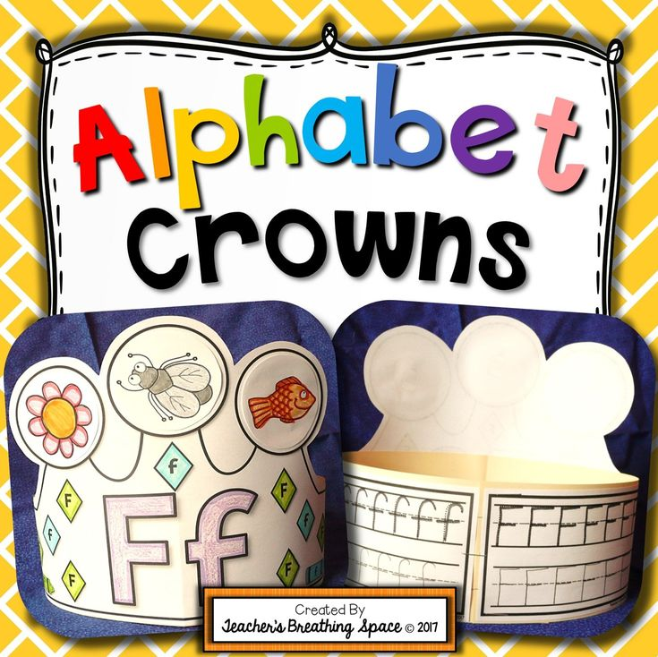 Alphabet Crowns --- Interactive Alphabet Hats From Aa to Zz. This fun set includes 26 alphabet crowns for the letters Aa - Zz. Simply complete, cut out and glue onto sentence strips. So fun! A FREE LETTER A SAMPLE IS INCLUDED IN THE PREVIEW!