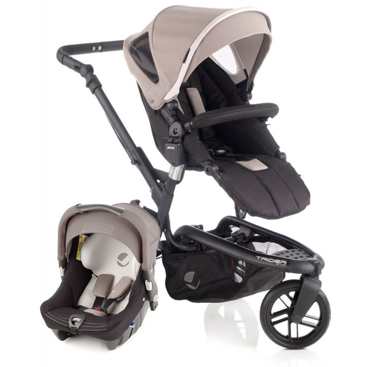 Jane Trider Strata Travel System-Cream (2014) Description: Product Includes: TRIDER Pushchair: Pushchair Hood with Visor. Pushchair Raincover. Shopping Basket. Co-ordinating Pram Bag with Changing Mattress. STRATA Infant Car Seat: Hood / Canopy. Padded Liner and Harness Pads. The Jané Trider lets you enjoy your trips out with complete ... http://simplybaby.org.uk/jane-trider-strata-travel-system-cream-2014/