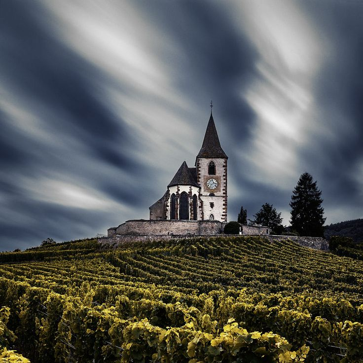 The Church - Hunawihr by Etienne Ruff on 500px