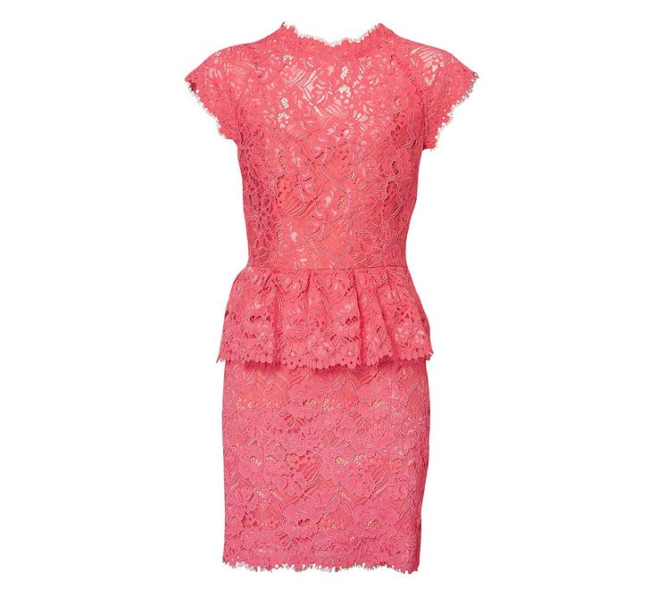 Lace Peplum Dress - Dresses - Her - Witchery #witcherywishlist