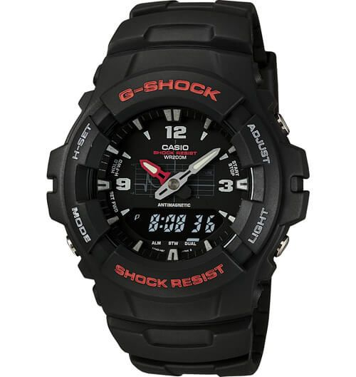 G100-1BV G-Shock Simple Military Watch