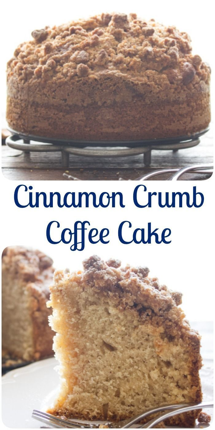 Cinnamon Crumb Coffee Cake, an easy delicious Coffee Cake recipe. A delicious crumb topping using leftover cake. Snack or Dessert. Enjoy.|anitalianinmykitchen.com