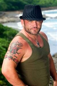 Russell Hantz. The smarmiest Survivor contestant ever. He played three times and never learned a thing.