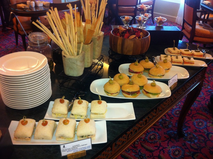 Mini placeres en Club Lounge de Ritz Santiago