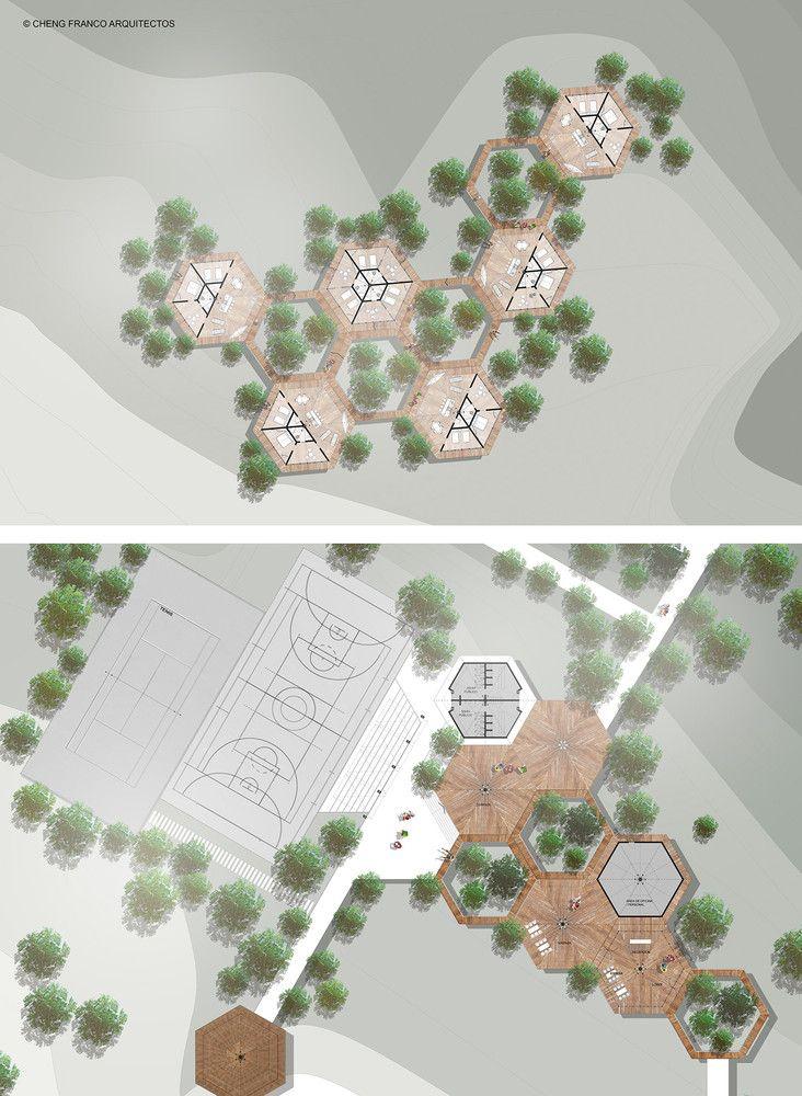 Centro Recreacional en Perú se adapta a su entorno natural a través de un sistema modular flexible,Planta 02. Image Cortesía de Cheng Franco Arquitectos