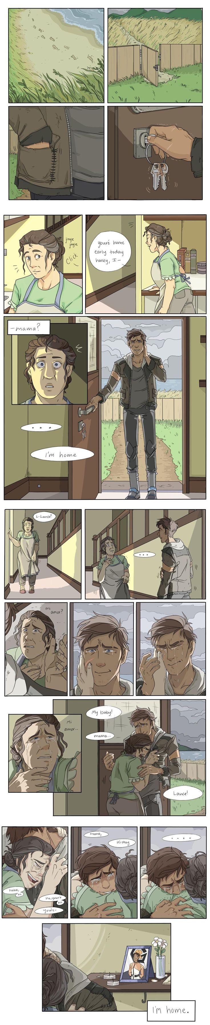 part 2, Lance comes home part 1 (x)