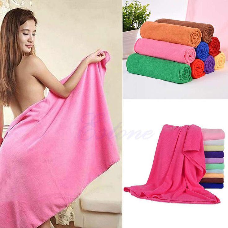 Durable Fast Drying Microfiber Bath Towel Travel Gym Camping Sport   Home & Garden, Bath, Towels & Washcloths   eBay!