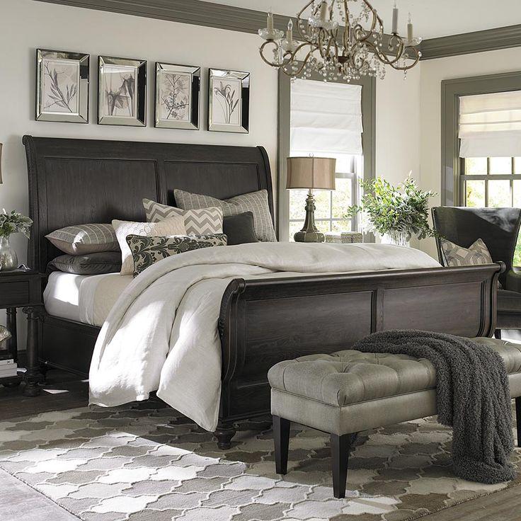 Best 25+ Sleigh beds ideas on Pinterest | Cherry wood bedroom ...