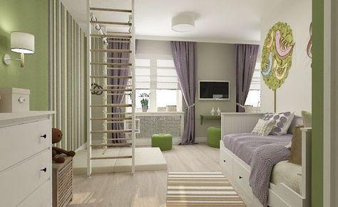 Дизайн-проект детской комнаты «С нотками прованса»