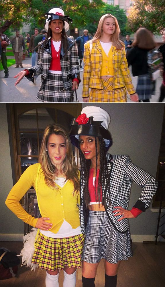 Dionne and Cher from Clueless! Too good. #90s