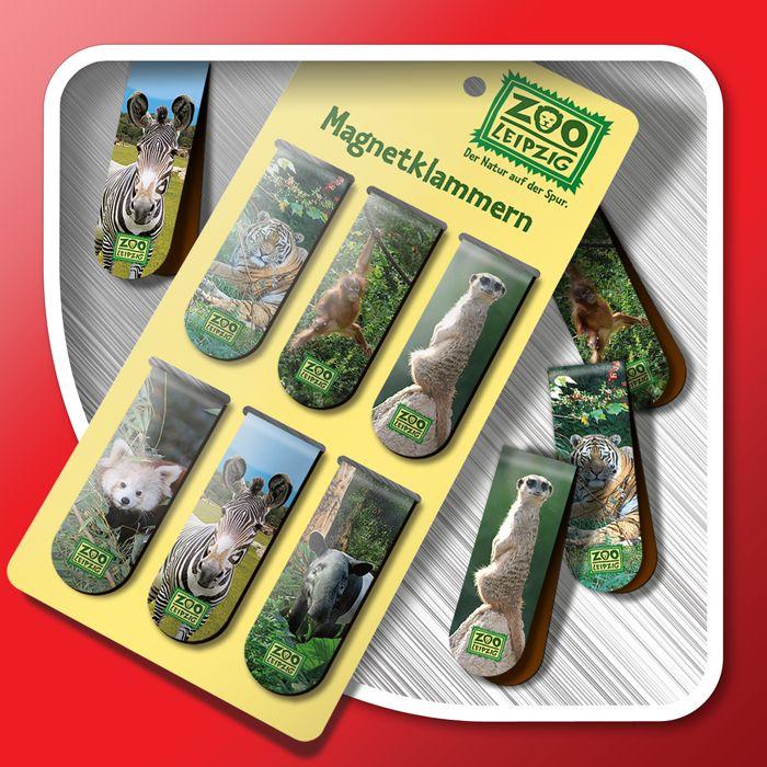 Magnetic bookmarks (set)