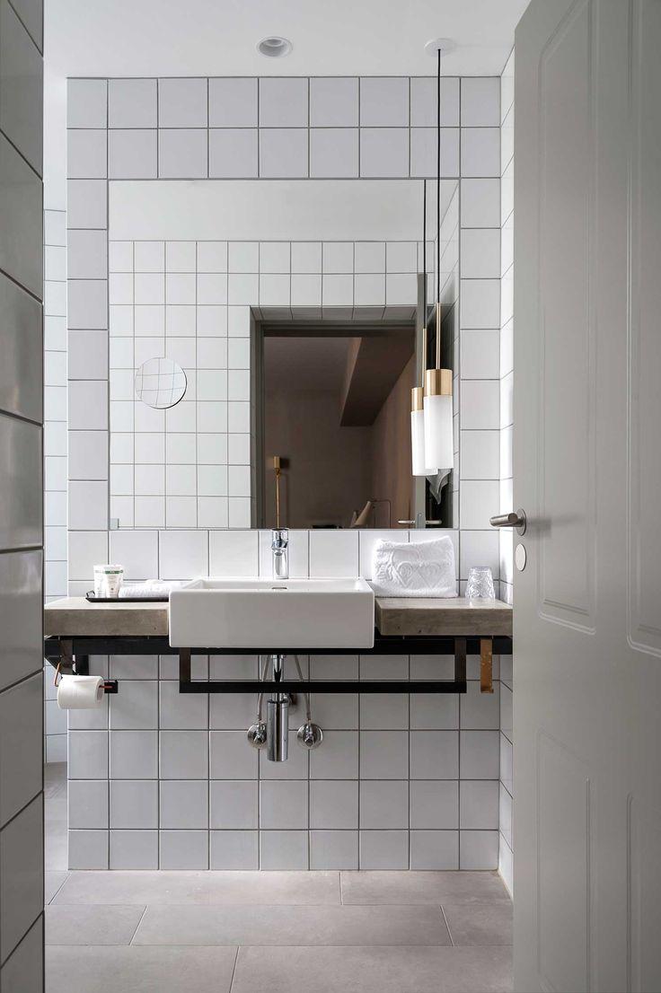 bathroom   at hotel    quot sp34 quot    copenhagen  denmark. 10  images about   interior   hotel concept   on Pinterest