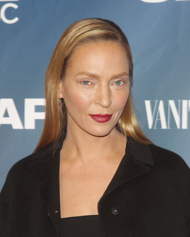 Retratos de la actriz estadounidense desde que participara en la película  Pulp Fiction  en 1994 hasta la actualidad