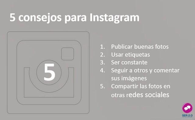 5 consejos para lograr el éxito en #Instagram