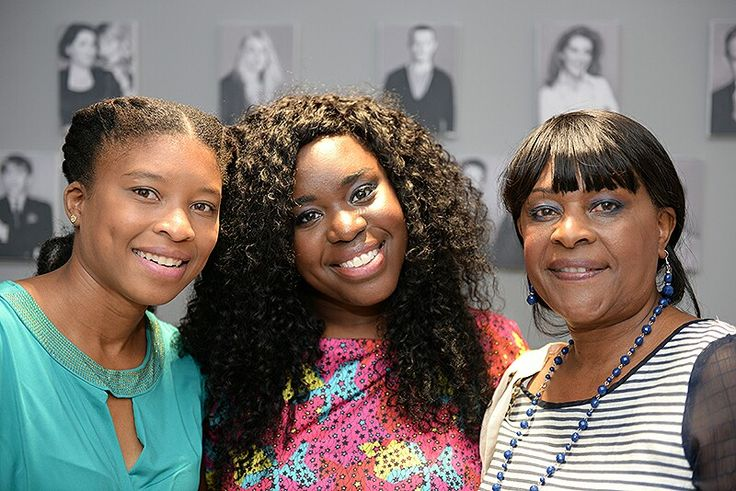 @afrodeity founders Alicia (l) and Joilette (r) with Natalie