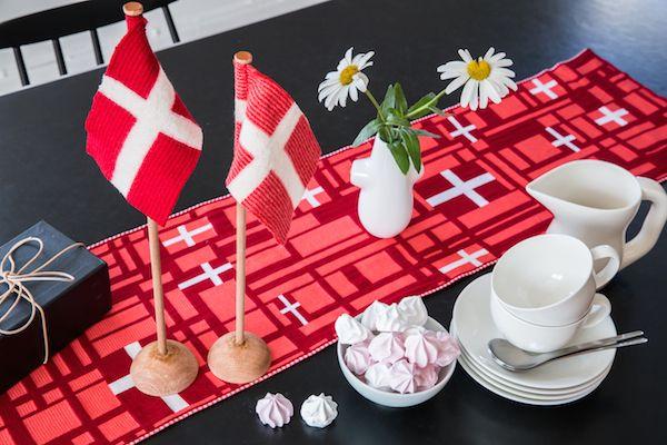 Line Dyr Bordflag, perfekt til børnefødselsdag - Tinga Tango Designbutik