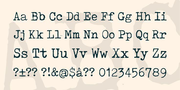 Tox Typewriter Font · 1001 Fonts