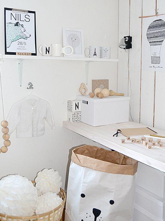 Elina Dahl, shop.elinadahl.com  Namntavla, barnrum.