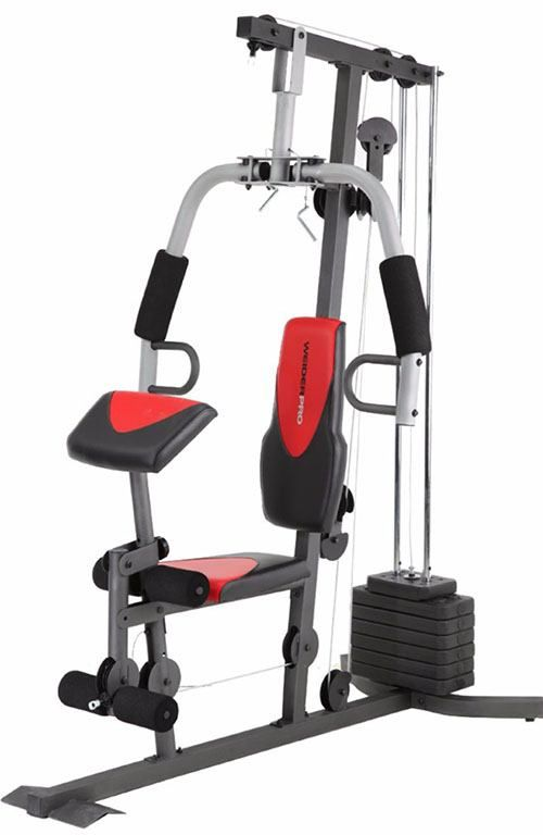 On the other end of the spectrum, the Weider 2980X boasts of a lot more stations that you can use when compared to the Weider Total Body Works line. http://garagegymplanner.com/joe-weider-home-gyms-reviews/