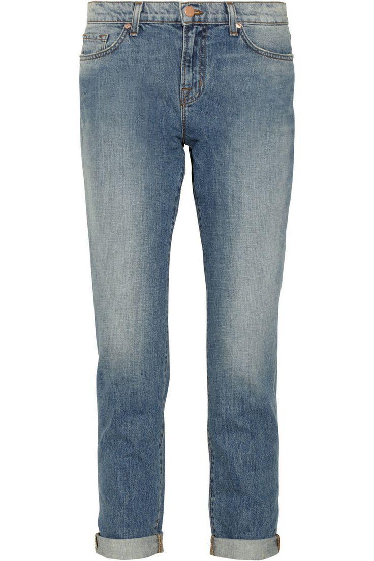 J Brand|Aidan mid-rise boyfriend jeans|NET-A-PORTER.COM
