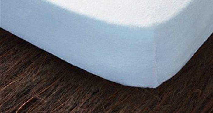 Fundas de Colchón IRIS | Elástica en rizo 100% algodón que se adapta a distintas alturas de colchón y a largos de 182, 190 y 200 cm. No encoge. Cuenta con una cremallera reforzada y su confección es de gran calidad | Encuentra toda la información de este producto en http://www.mejordescanso.com/almohadas-y-ropa-de-cama/fundas-de-colchon-iris.html