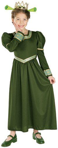 Princess Fiona Girls Costume-The Top Costumes for Girls  sc 1 st  Pinterest & 37 best Shrek the Musical JR. images on Pinterest | Costume ideas ...