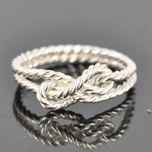 Infinity ring, double infinity, twisted, rope, sisters, best friend, wedding, bridesmaid gift, Bridal Jewelry, Promise Ring, Anniversary by JubileJewel on Etsy https://www.etsy.com/hk-en/listing/215741238/infinity-ring-double-infinity-twisted