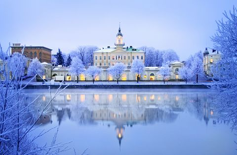 Pori -winter / wish we could move back to old hometown, close to the sea <3