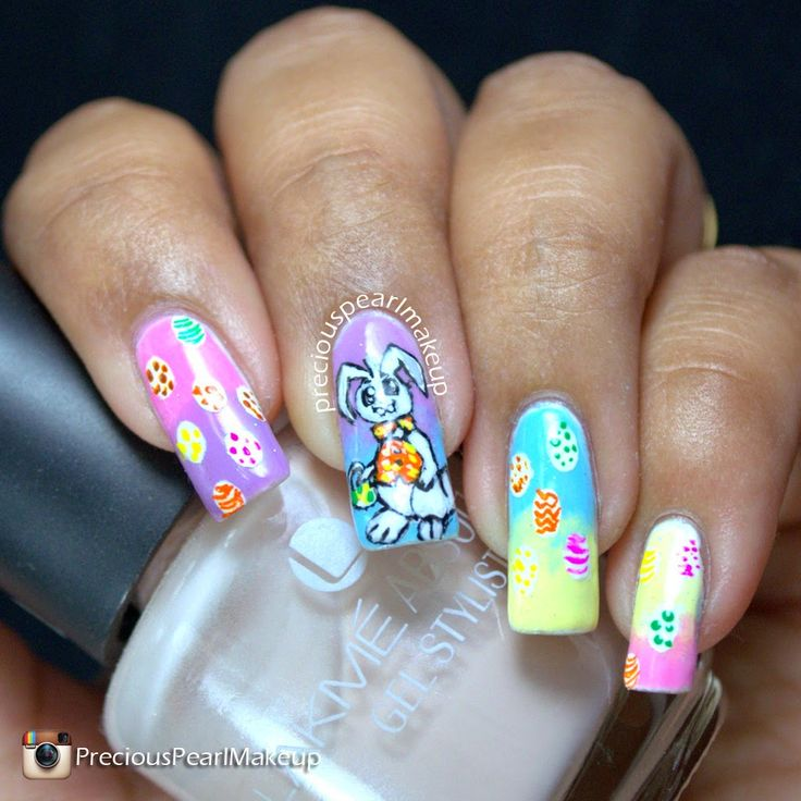 Easter Bunny Nails: 1000+ Images About Nail Art