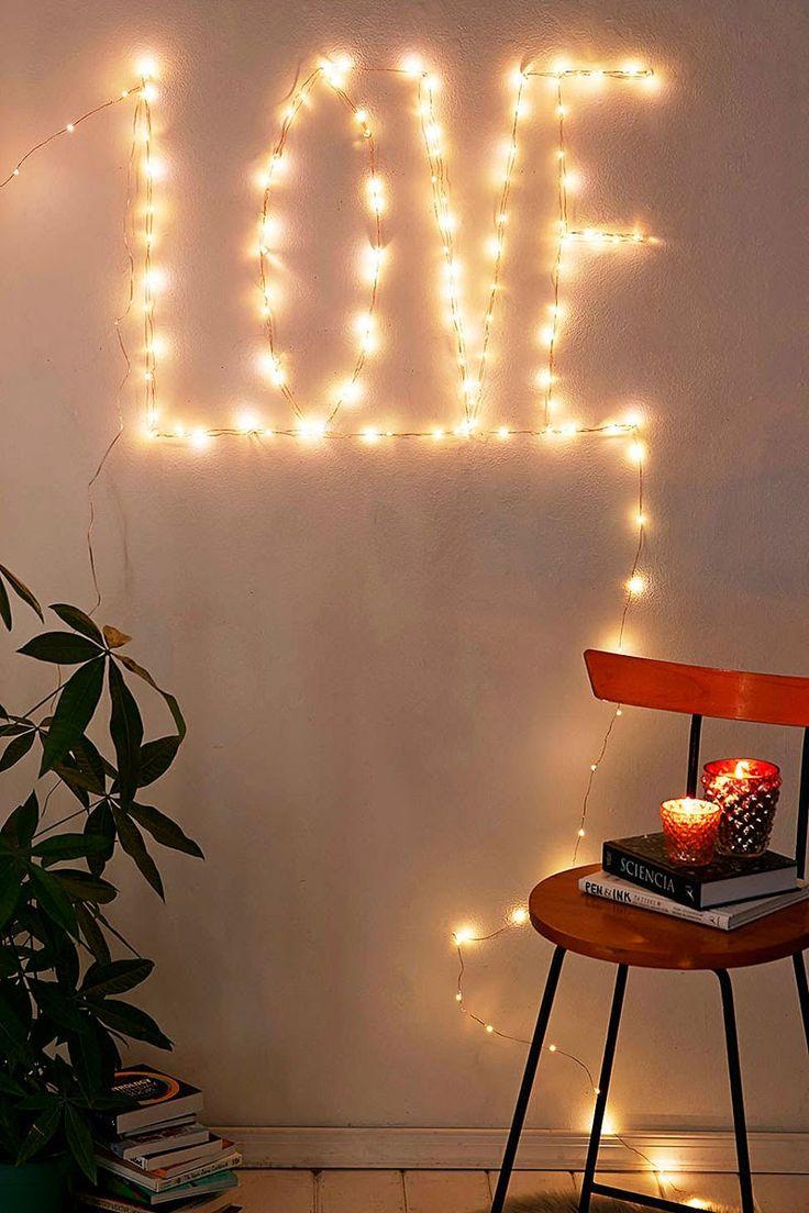 En 5 minutos: Cuatro espectaculares y sencillas ideas para decorar con las luces de navidad / Four gorgeous and simple ideas to decorate your home with Christmas lights, in five minutes