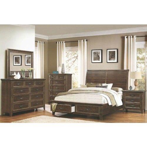 Storage Platform Bedroom Set Coaster Furniture Pinterest