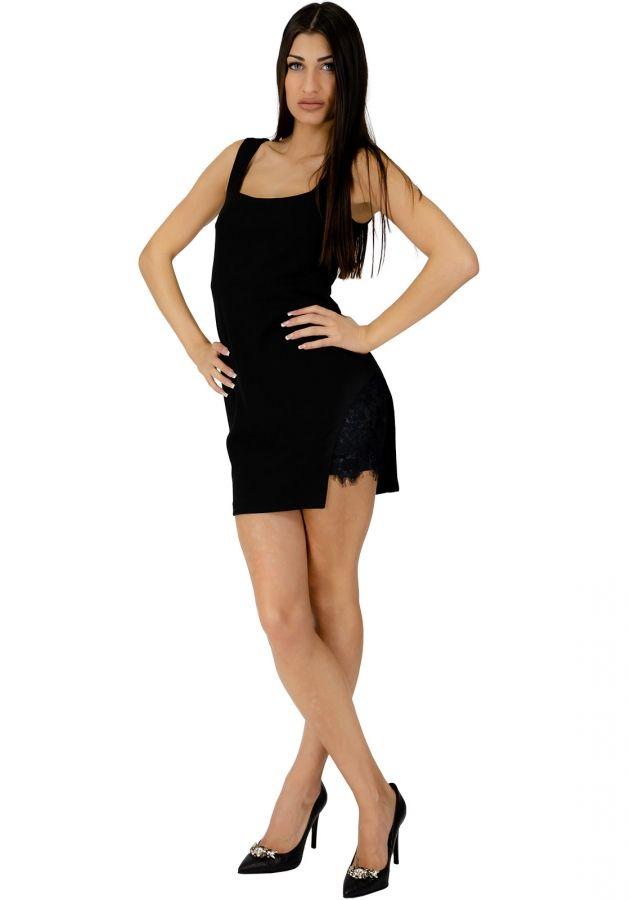 76e9c988d6c9 Φόρεμα mini με δαντέλα στο σκίσιμο  fashionista  dress  girls  mystyle   outfit