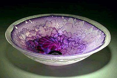 Purple Glass | purple creek one of a kind hand made cast glass sinks exciting custom ...