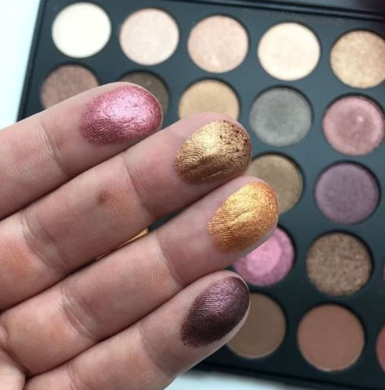 The Morphe 35F Fall Into Frost Palette is one of the best eyeshadow palettes!