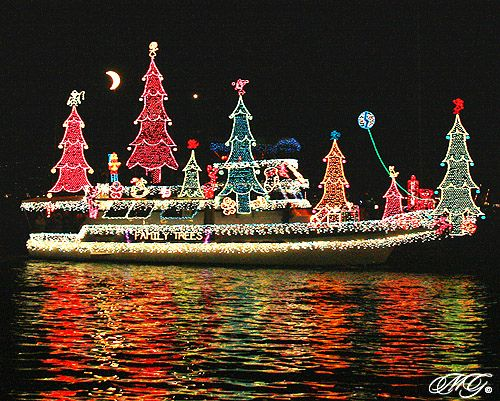 2009 Newport Beach Christmas Boat Parade 4 Explored Cars Etc Pinterest And Lights