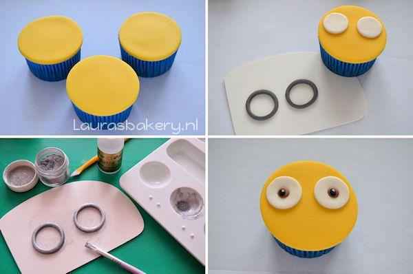 Minion Cupcakes - Laura's Bakery