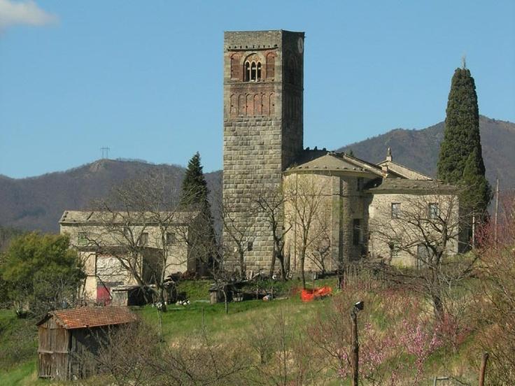 Abbazia di Borzone, entroterra di Lavagna