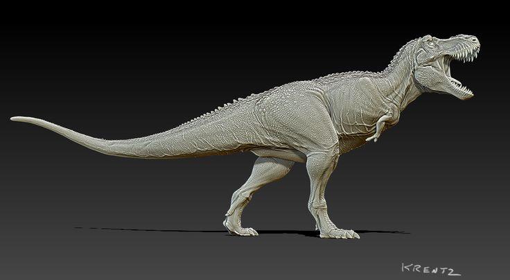 "Tyrannosaurus ""Saurozoic Collection"" Resin Kit by Krentz - Dan's Dinosaurs"