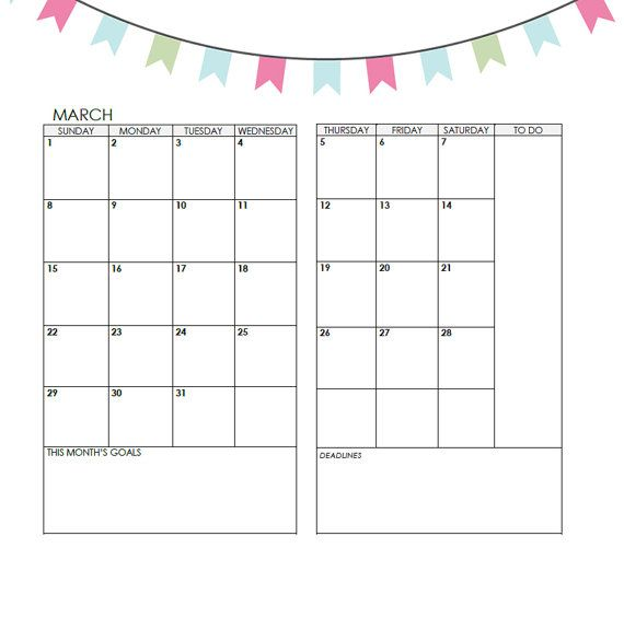 Planner Calendar Inserts : Images about midori traveler s notebook inserts on