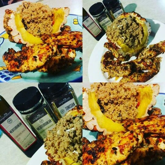 Delicious YIAHrised Mediterranean Cous Cous stuffed in ...