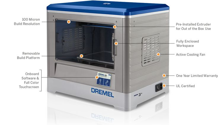 Dremel 3D Printer  And to think... my only Dremel tool polishes, cuts, and engraves!