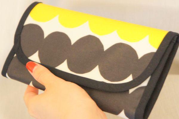 ordermade wallet dot #handmade #wallet #ordermade #sewing #marimekko